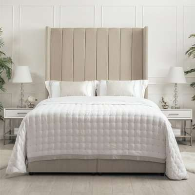 Conway High Headboard Storage Bed Linen