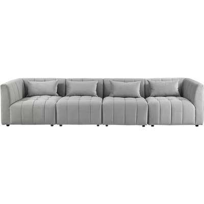 Essen Four Seat Sofa – Dove Grey