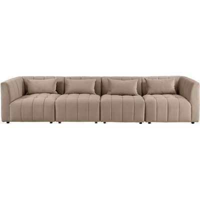 Essen Four Seat Sofa – Taupe