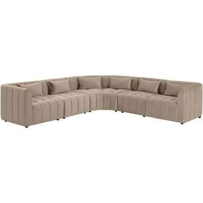 Essen Large Corner Sofa – Taupe