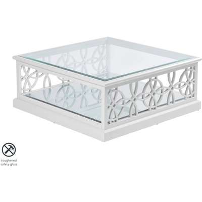 Etienne White Coffee Table