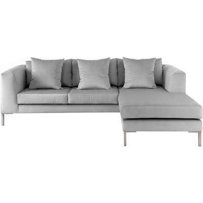 Linear Left/Right Hand Corner Sofa – Dove Grey