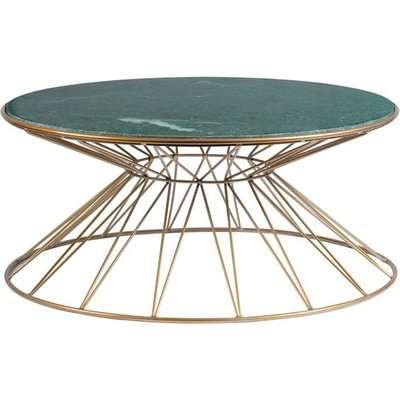 Mali Brass Coffee Table