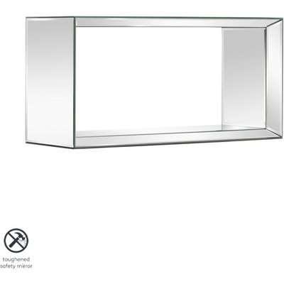 Uno - Mirrored Rectangular Wall Shelf