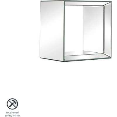 Uno - Mirrored Square Wall Shelf