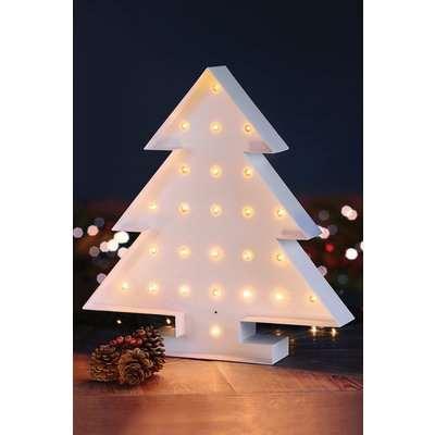 Multicolour LED Christmas tree