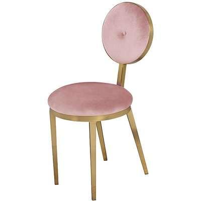 Ravello Dining Chair - Blush Pink