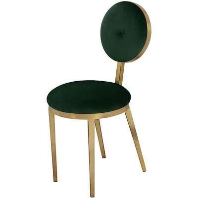Ravello Dining Chair - Bottle Green