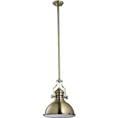 Rene Bronze French Pendant Light