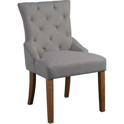 Torino Herringbone Grey Dining Chair