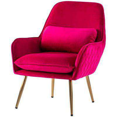 Watson Lounge Chair - Hot Pink