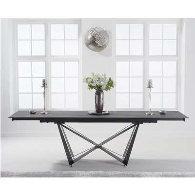 Blenheim 180cm Extending Grey Stone Dining Table