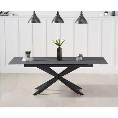 Boston 180cm Extending Grey Stone Dining Table