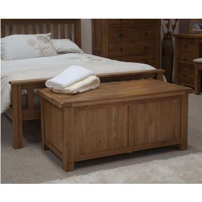 Bramley Oak Blanket Box