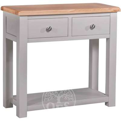 Devonshire Diamond Painted Console Table