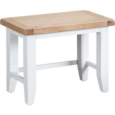 Eden Oak and White Nest of 3 Tables