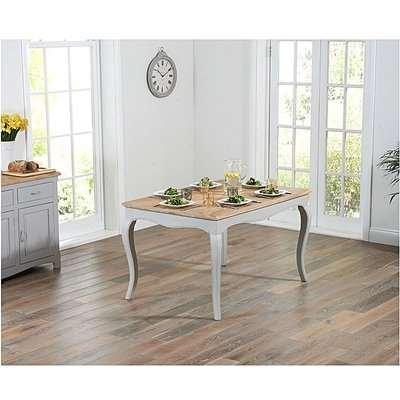 Ex-display Parisian 130cm Grey Shabby Chic Dining Table
