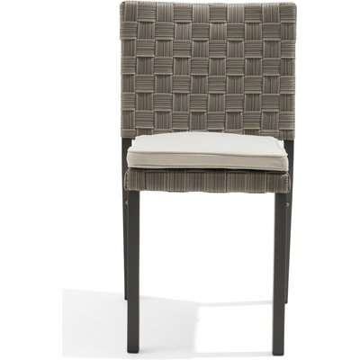 Gardenia Grey Garden Chairs - Grey, 2 Chairs