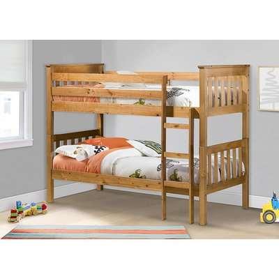 Nebraska Pine Bunk Bed