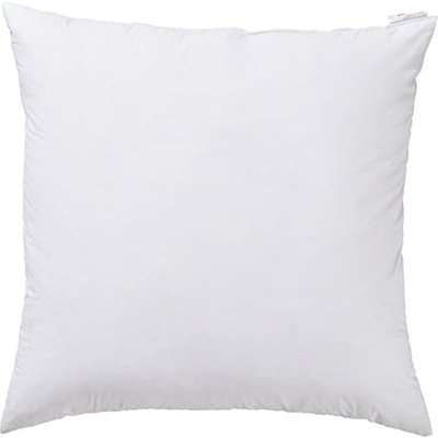 60cmSq Feather-Filled Cushion Pad - White