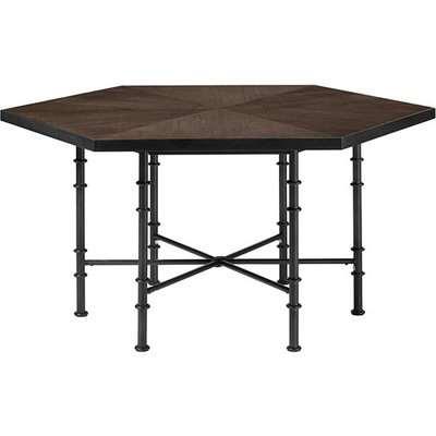Antrim Dining Table - Ebonised Oak