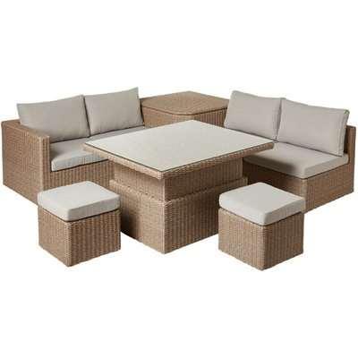 Carrillo Storage Coffee Table Set  - Off White