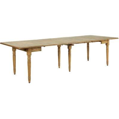 Charlotte Extendable Dining Table - Weathered Oak