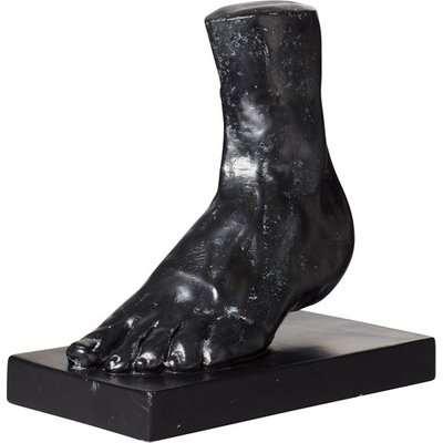 Decorative Pied Ornament - Black