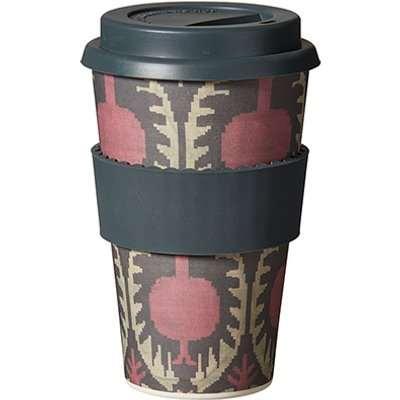 Delima Bamboo Travel Mug - Multi