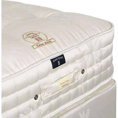 Deluxe Super King Divan Bed - White