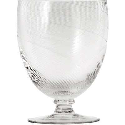 Large Twisted Wine Glasses, Set of 4