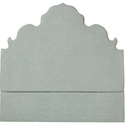 Natoire Super King Upholstered Headboard - Eau de Nil