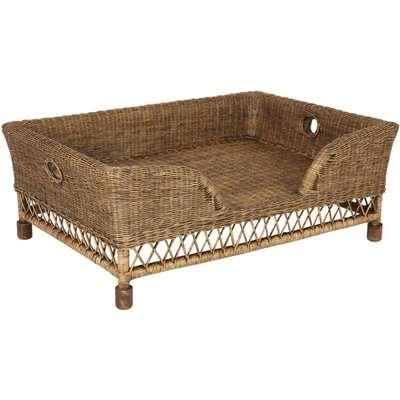 Rattan Mattaban Pet Bed, Large