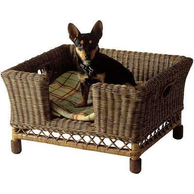 Rattan Mattaban Pet Bed, Small