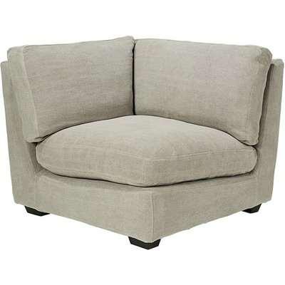 Savile Modular / Corner Sofa - Washed Grey