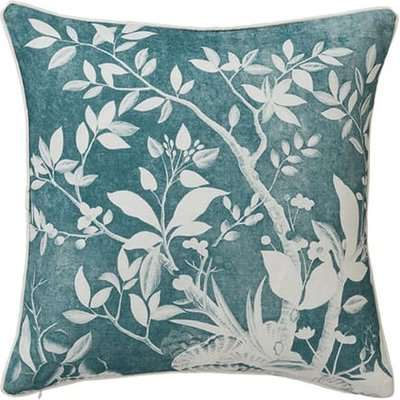 Tongli Cushion Cover Only(51cmSq) - Dark Teal