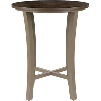 Treadle Side Table - Brown