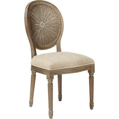 Washakie Linen Chair - Sand Herringbone