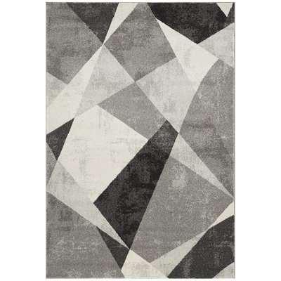 Asiatic Carpets Nova Machine Woven Rug Patio Grey - 160 x 230cm