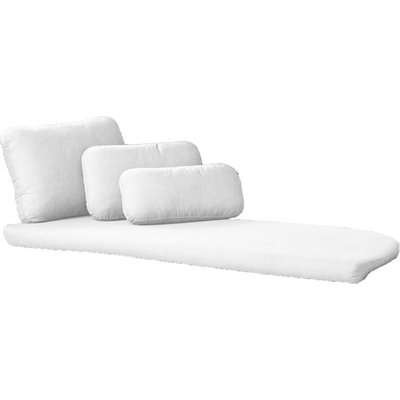 Cane-line Savannah Left Module Set White Outdoor Outdoor Daybed Cushion Set