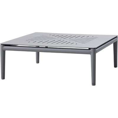 Cane-line Conic Light Grey Outdoor Coffee Table