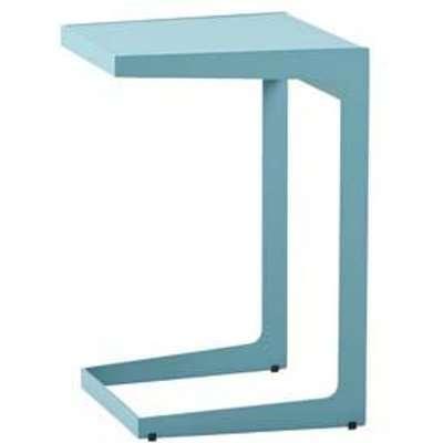 CANE-LINE Time-out Outdoor Side Table Aluminium Aqua