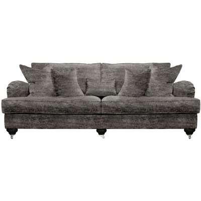 Duresta Belgrade Modena Grand 4 Seater Split Sofa / Regency Grey