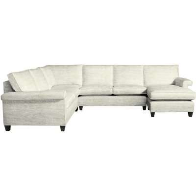 Duresta Haywood Modena Natural Corner Sofa / Single Armless