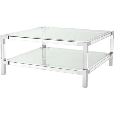 Eichholtz Parme Coffee Table in Black Faux Marble