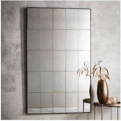 Gallery Direct Boxley Antique Window Pane Mirror / Medium