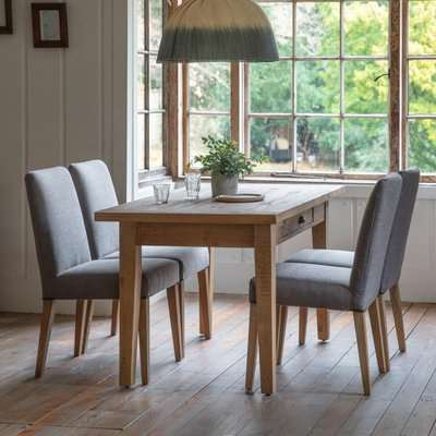 Gallery Direct Elveden Large 6 Seater Dining Table