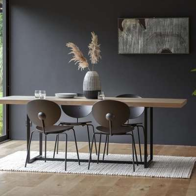 Gallery Direct Forden Dining Table Black
