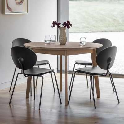 Gallery Direct Forden Round Dining Table Grey Wash