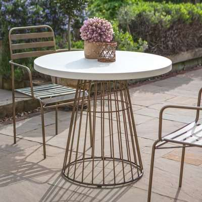 Gallery Direct Greenwich Bistro Outdoor Table | Outlet